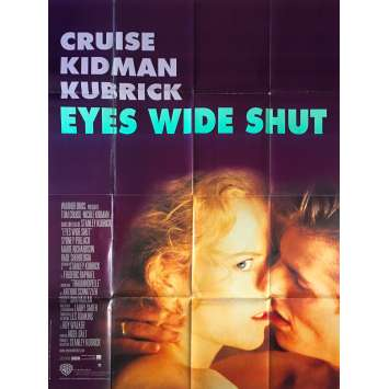 EYES WIDE SHUT Affiche de film - 120x160 cm. - 1999 - Tom Cruise, Nicole Kidman, Stanley Kubrick