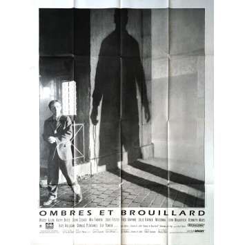 OMBRES ET BROUILLARD Affiche de film - 120x160 cm. - 1991 - Mia Farrow, Woody Allen