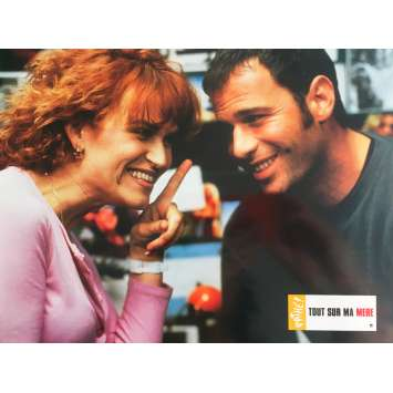 ALL ABOUT MY MOTHER Original Lobby Card N1 - 9x12 in. - 1999 - Pedro Almodovar, Cecilia Roth