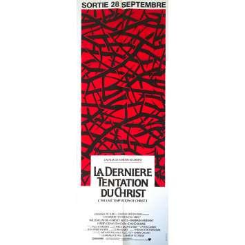 LA DERNIERE TENTATION DU CHRIST Affiche de film Mod B - 60x160 cm. - 1988 - Willem Dafoe, Martin Scorsese