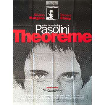THEOREME Affiche de film - 120x160 cm. - 1968 - Terence Stamp, Pier Paolo Pasolini