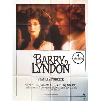 BARRY LYNDON Affiche de film - 120x160 cm. - 1976 - Ryan O'Neil, Stanley Kubrick