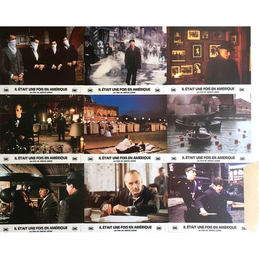 ONCE UPON A TIME IN AMERICA Original Lobby Card Set -1984 - Sergio Leone, James Woods, De Niro
