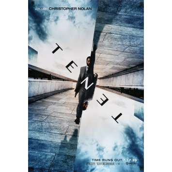 TENET Original 1sh Teaser Movie Poster - 27x40 - 2020 - Christopher Nolan