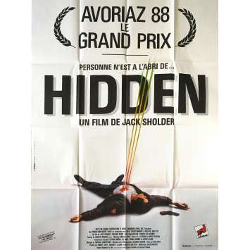HIDDEN Movie Poster 47x63 in. French - 1987 - Jack Sholder, Kyle MacLachlan
