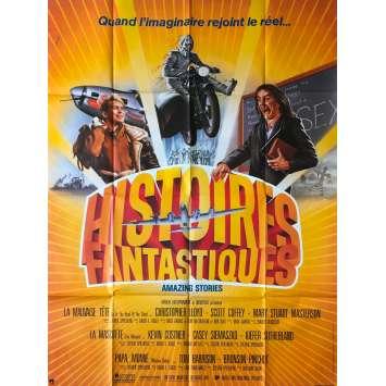 HISTOIRES FANTASTIQUES Affiche de film 120x160 cm - 1985 - Harvey Keitel, Steven Spielberg