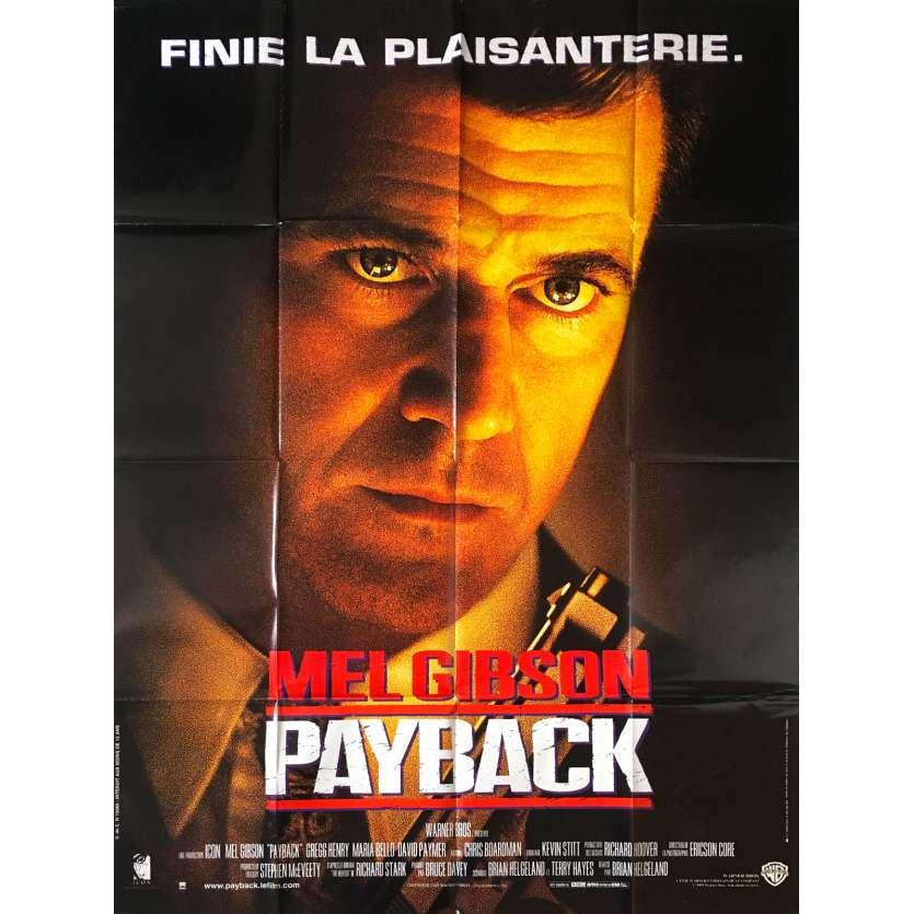 PAYBACK Affiche de film - 120x160 cm - 1999 - Mel Gibson
