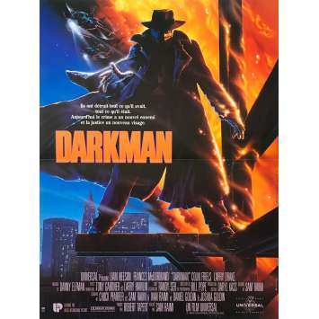 DARKMAN Original Movie Poster - 15x21 in. - 1990 - Sam Raimi, Liam Neeson