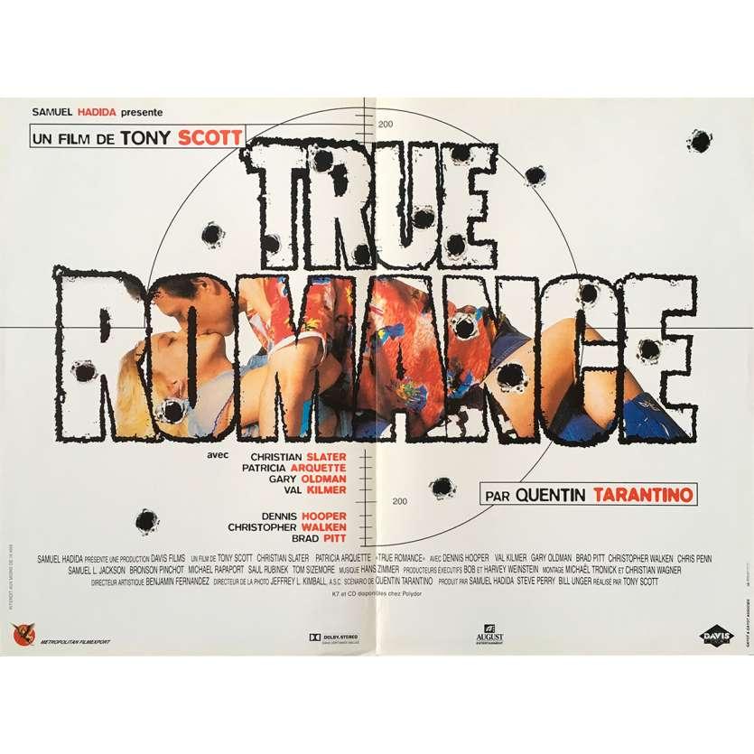 TRUE ROMANCE Affiche de film 40X60 - 1993 - Christian Slater, Tony Scott