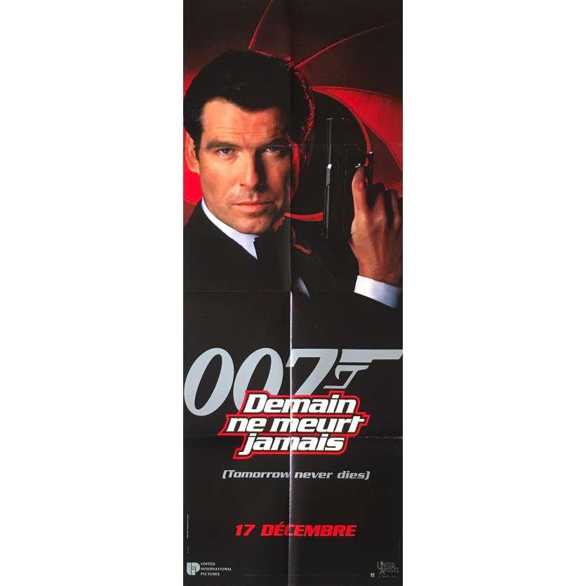 TOMORROW NEVER DIES French Movie Poster 23x63 - 1997 - Roger Spottiswoode, Pierce Brosnan