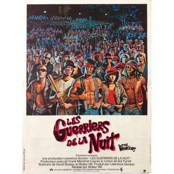 THE WARRIORS Original Movie Poster - 15x21 in. - 1979 - Walter Hill, Michael Beck