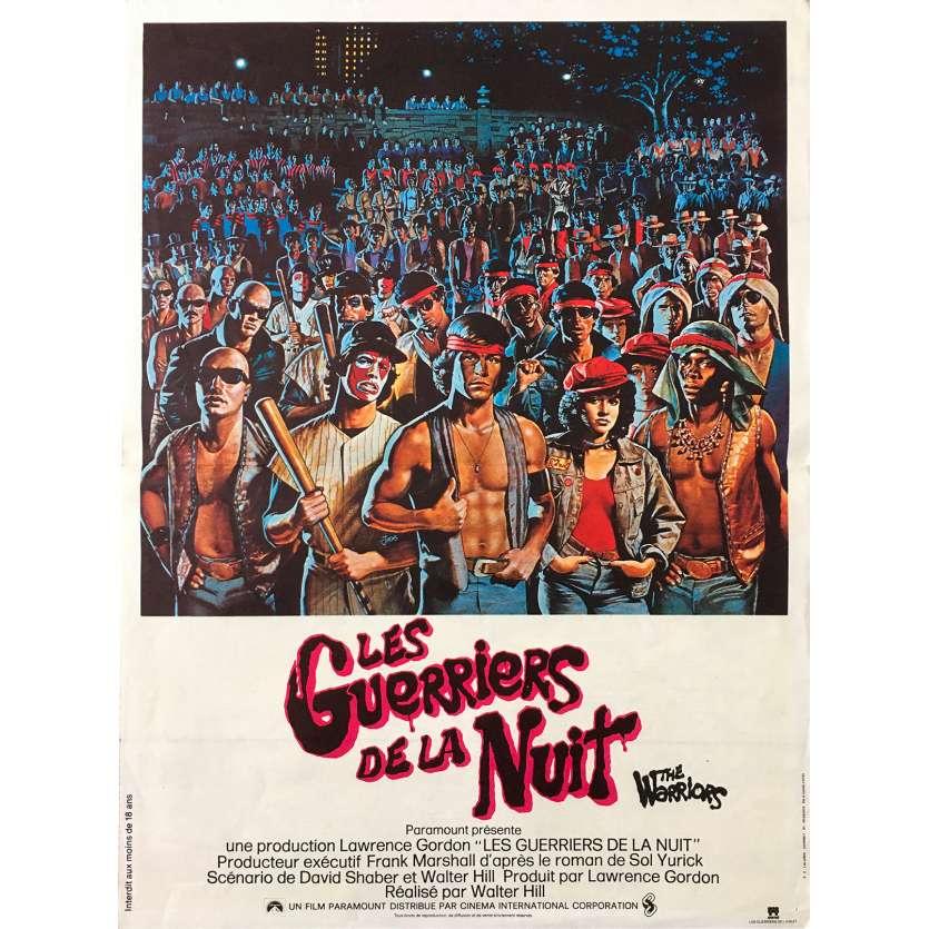 LES GUERRIERS DE LA NUIT Affiche de film - 40x60 cm. - 1979 - Michael Beck, Walter Hill