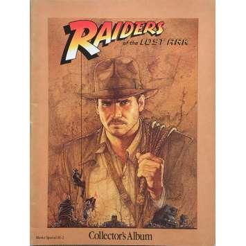LES AVENTURIERS DE L'ARCHE PERDUE Programme 64p - 21x30 cm. - 1981 - Harrison Ford, Steven Spielberg