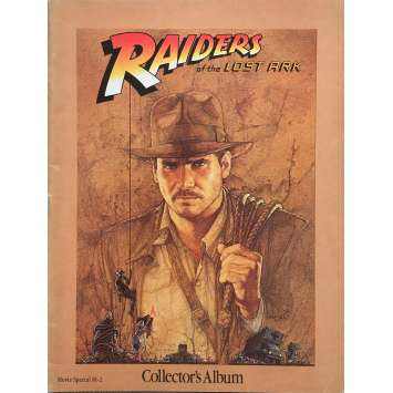 RAIDERS OF THE LOST ARK Original Program 64p - 9x12 in. - 1981 - Steven Spielberg, Harrison Ford