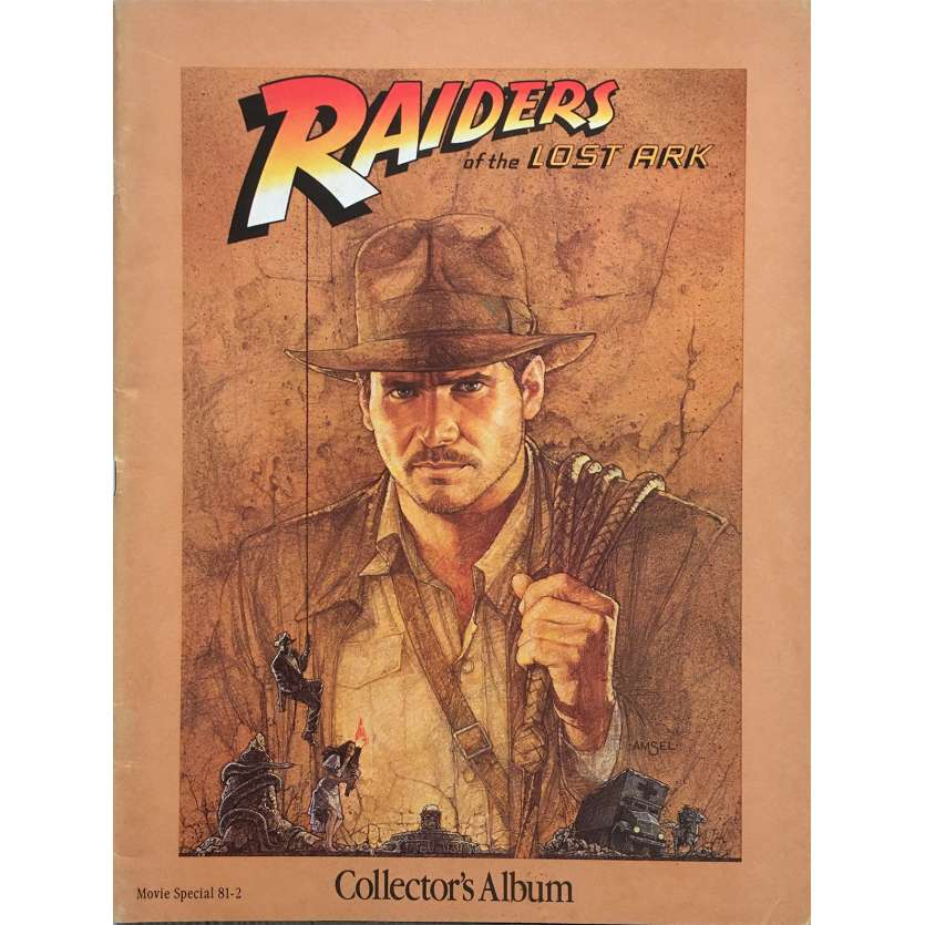 RAIDERS OF THE LOST ARK Original Program 64p - 9x12 in. - 1981 - Steven Spielberg, Harrison Ford