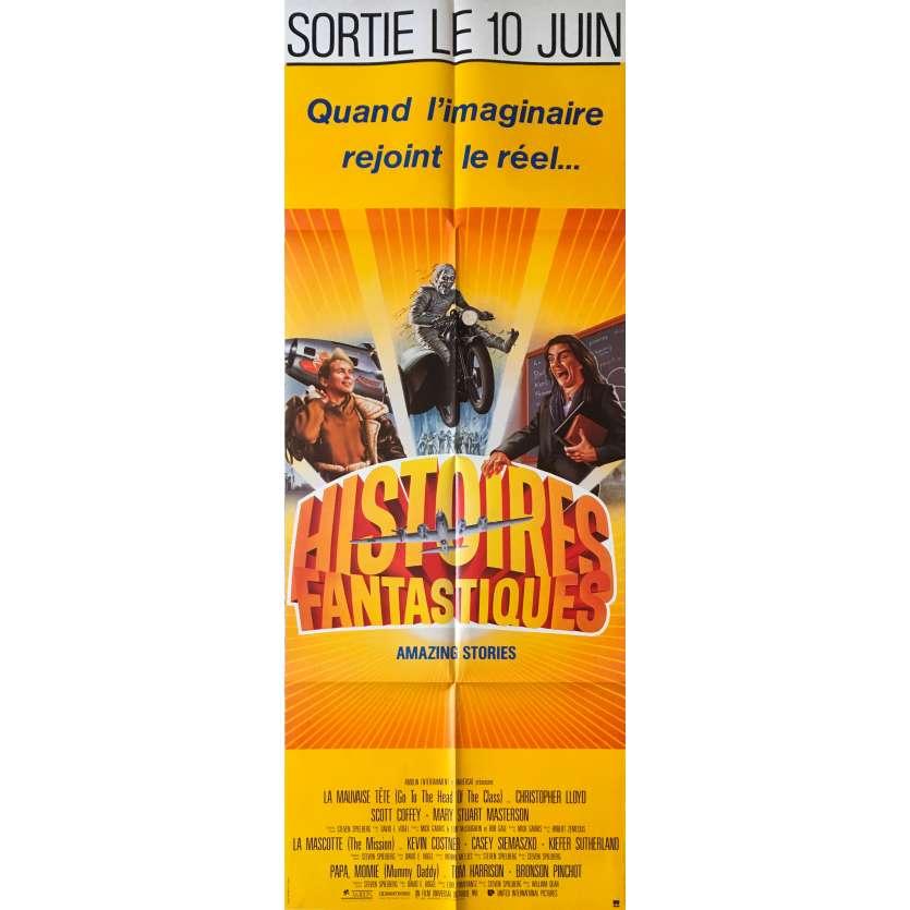 HISTOIRES FANTASTIQUES Affiche de film - 60x160 cm. - 1985 - Harvey Keitel, Steven Spielberg