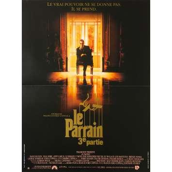 LE PARRAIN 3 Affiche de film - 40x60 cm. - 1990 - Al Pacino, Francis Ford Coppola