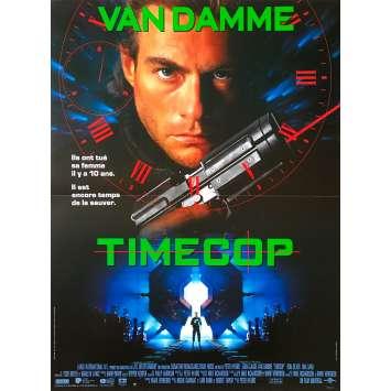 TIMECOP Affiche de film - 40x60 cm. - 1994 - Jean-Claude Van Damme, Peter Hyams