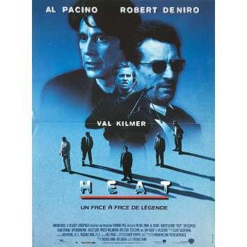 HEAT Affiche de film - 40x60 cm. - 1995 - Burt Reynolds, Michael Mann