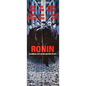RONIN Original Movie Poster - 23x63 in. - 1998 - John Frankenheimer, Robert de Niro