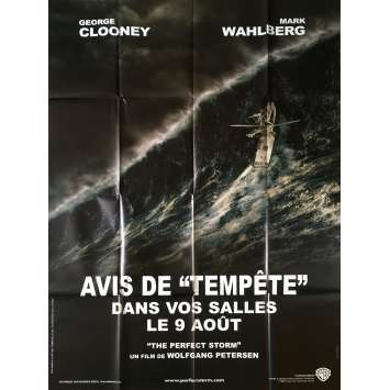THE PERFECT STORM Original Movie Poster Adv. - 47x63 in. - 2000 - Wolfgang Petersen, George Clooney