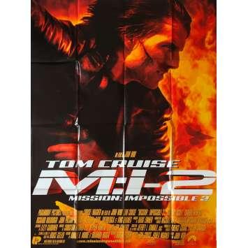 MISSION IMPOSSIBLE 2 Affiche de film - 120x160 cm. - 2000 - Tom Cruise, John Woo