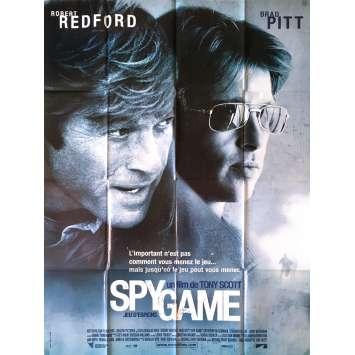 SPY GAME Original Movie Poster - 47x63 in. - 2001 - Tony Scott, Robert Redford