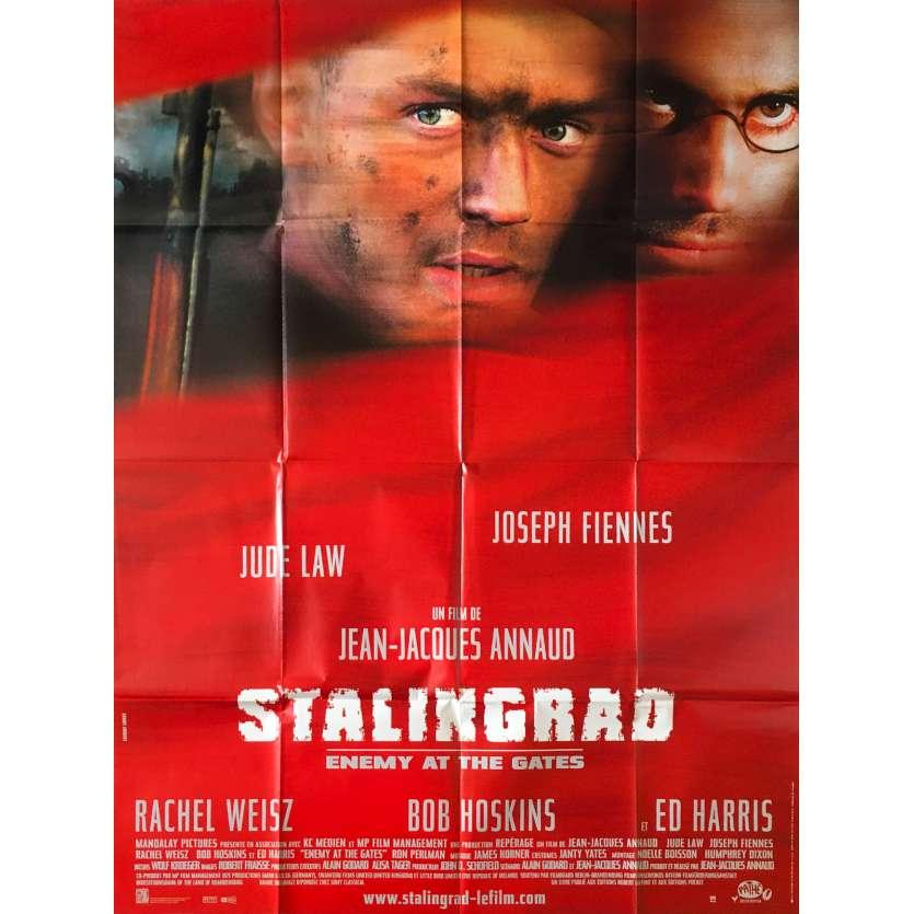 STALINGRAD Affiche de film - 120x160 cm. - 2001 - Jude Law, Ed Harris, Jean-Jacques Annaud