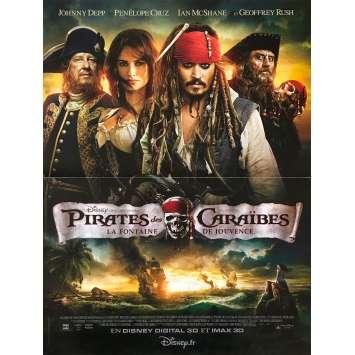 PIRATES OF THE CARIBBEAN Original Movie Poster - 15x21 in. - 2003 - Gore Verbinski, Johnny Depp