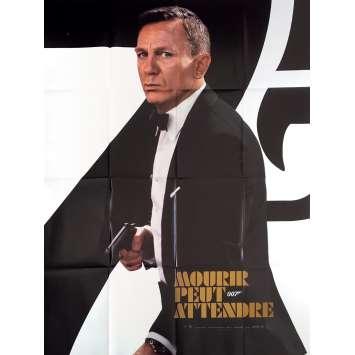 NO TIME TO DIE Original Movie Poster Adv. - 47x63 in. - 2021 - Cary Joji Fukunaga, Daniel Craig