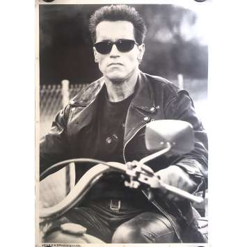 TERMINATOR Affiche commerciale - 61x86 cm. - 1983 - Arnold Schwarzenegger, James Cameron