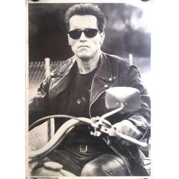 TERMINATOR Commercial Poster - 24x34 in. - 1983 - James Cameron, Arnold Schwarzenegger