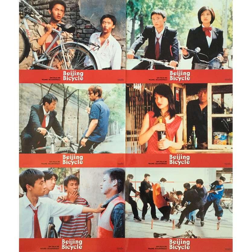 BEIJING BICYCLE Photos de film x6 - 21x30 cm. - 2001 - Lin Cui, Xun Zhou, Xiaoshuai Wang