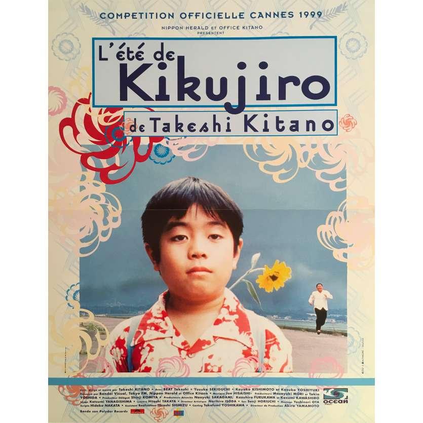 KIKUJIRO NO NATSU Original Movie Poster - 15x21 in. - 1999 - Takeshi Kitano, Yusuke Sekiguchi