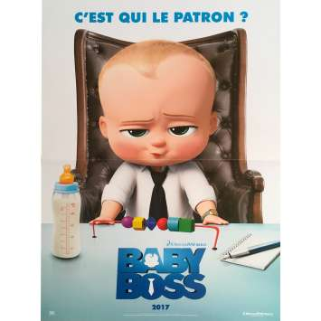 THE BOSS BABY Original Movie Poster - 15x21 in. - 2017 - Tom McGrath, Alec Baldwin