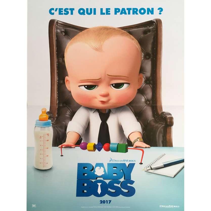 BABY BOSS Affiche de film - 40x60 cm. - 2017 - Alec Baldwin, Tom McGrath