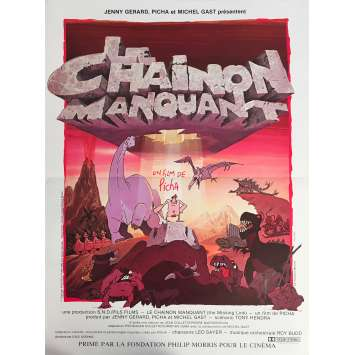 LE CHAINON MANQUANT Affiche de film - 40x60 cm. - 1980 - Richard Darbois, Picha