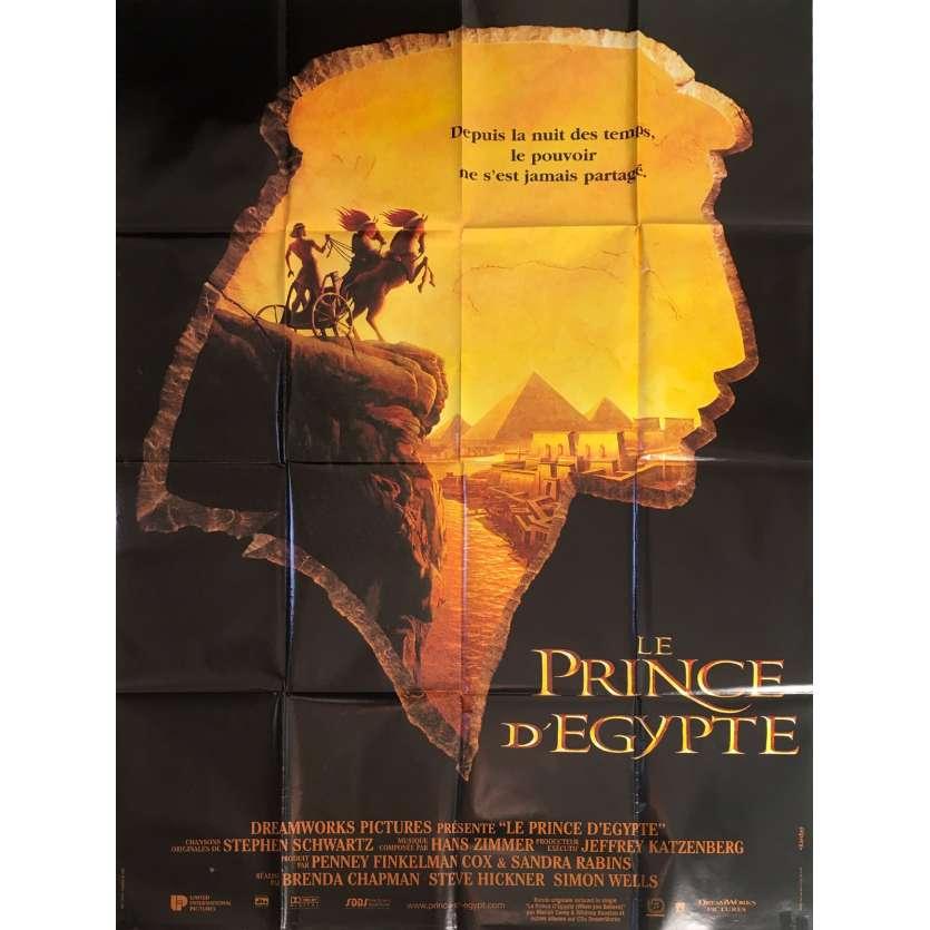 LE PRINCE D'EGYPTE Affiche de film - 120x160 cm. - 1998 - Val Kilmer, Brenda Chapman, Steve Hickner