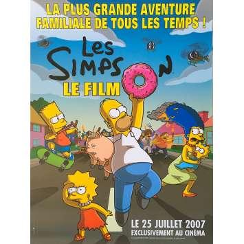 LES SIMPSON : LE FILM Affiche de film - 40x60 cm. - 2007 - Dan Castellaneta, David Silverman