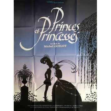 PRINCES AND PRINCESSES Original Movie Poster - 47x63 in. - 2000 - Michel Ocelot, Arlette Mirapeu