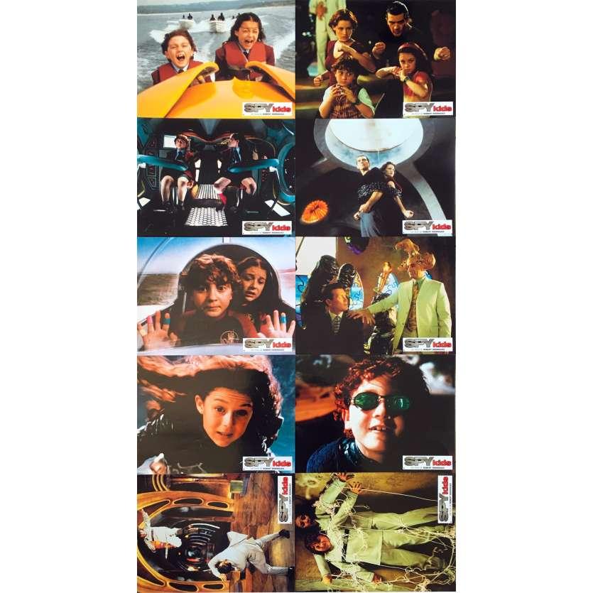 SPY KIDS Photos de film x10 - 21x30 cm. - 2001 - Antonio Banderas, Robert Rodriguez