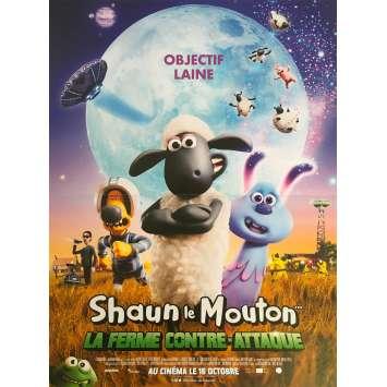 SHAUN THE SHEEP Original Movie Poster - 15x21 in. - 2015 - Mark Burton, Justin Fletcher