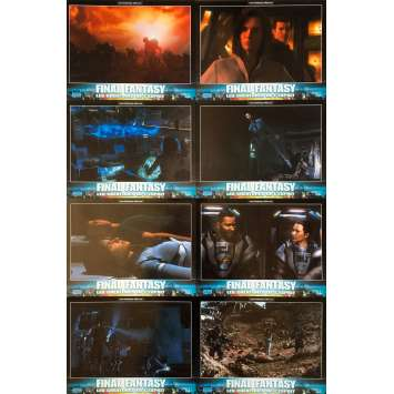 FINAL FANTASY Photos de film x8 - 21x30 cm. - 2011 - Alec Baldwin, Hironobu Sakaguchi