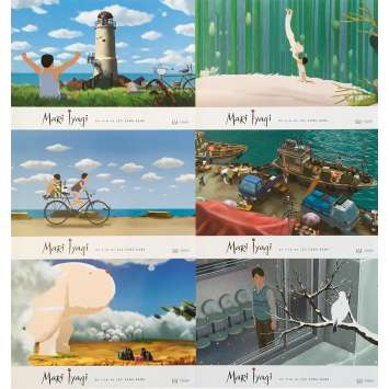 MY BEAUTIFUL GIRL, MARI Original Lobby Cards x6 - 9x12 in. - 2002 - Seong-gang Lee, Byung-hun Lee