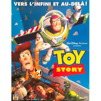 TOY STORY Original Movie Poster - 15x21 in. - 1995 - Pixar, Tom Hanks