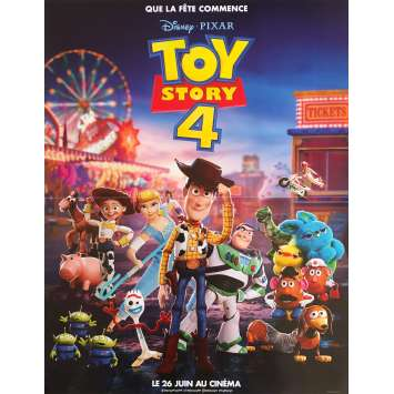 TOY STORY 4 Original Movie Poster - 15x21 in. - 2019 - Josh Cooley, Tom Hanks