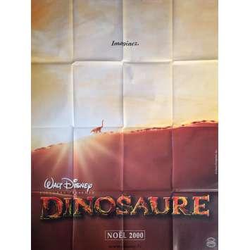 DINOSAUR Original Movie Poster Adv. - 47x63 in. - 2000 - Eric Leighton, Ralph Zondag, 0