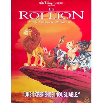 THE LION KING Original Movie Poster - 15x21 in. - 1994 - Walt Disney, Matthew Broderick