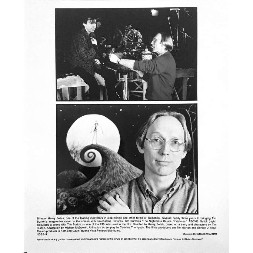 L'ETRANGE NOEL DE MONSIEUR JACK Photo de film NCBB-9 - 20x25 cm. - 1993 - Danny Elfman, Tim Burton