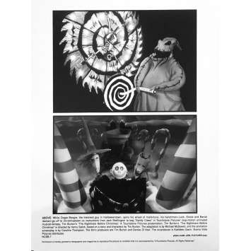 THE NIGHTMARE BEFORE CHRISTMAS Original Lobby Card NCBB-7 - 8x10 in. - 1993 - Tim Burton, Danny Elfman